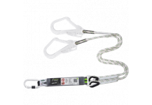 Longe fourche en corde tressée longueur 1 m