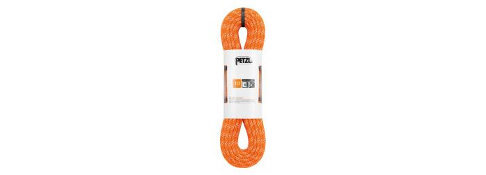 Corde semi-statique de 10 mm de diamètre destinée à la pratique de la spéléologie et du canyoning